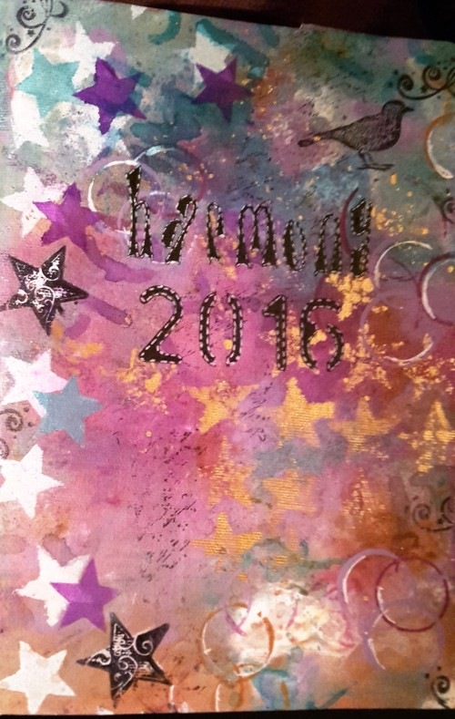 2016 Harmony Art Journal